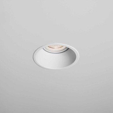 Astro Lighting - Minima Round Fire-Rated 1249010 (5741) - Fire Rated Matt White Downlight/Recessed Spot Light