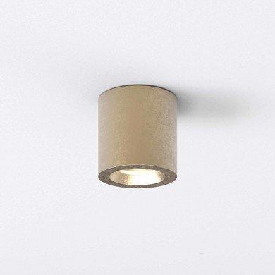 Astro Lighting - Kos Round 1326035 - IP44 Coastal Brass Surface Mounted Downlight