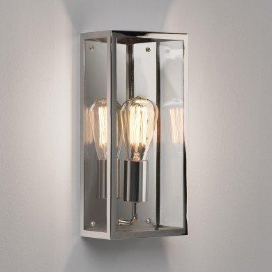 Astro Lighting - Messina 160 1183008 (7879) - IP44 Polished Nickel Wall Light