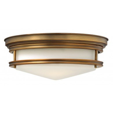 Elstead - Hinkley Lighting - Hadley HK-HADLEY-F-BR Flush Light