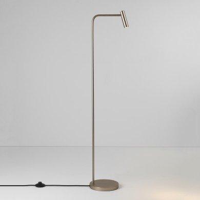 Astro Lighting - Enna Floor LED 1058058 (4579) - Matt Nickel Floor Light