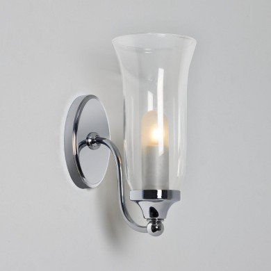 Astro Lighting - Biarritz 1314001 (7137) - IP44 Polished Chrome Wall Light
