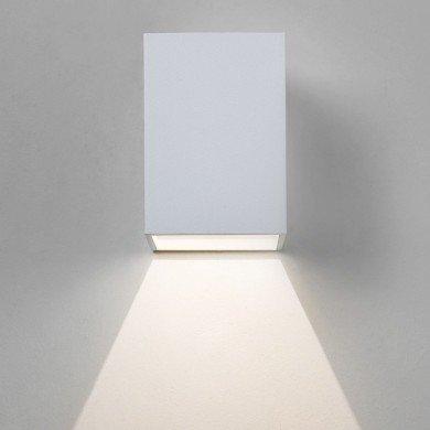 Astro Lighting - Oslo 100 LED 1298005 (7493) - IP65 Textured White Wall Light