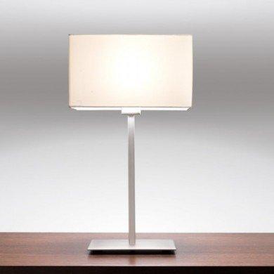 Astro Lighting - Park Lane Table 1080016 (4516) & 5001001 (4001) - Matt Nickel Table Lamp with White Shade