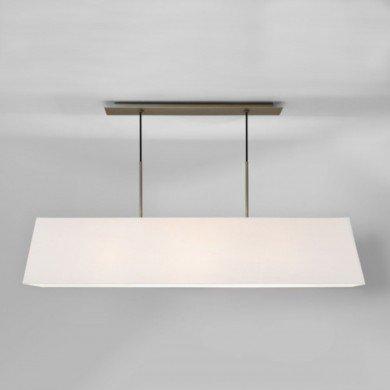 Astro Lighting - Rafina 1320001 (7154) & 5025001 (4132) - Matt Nickel Pendant with White Shade