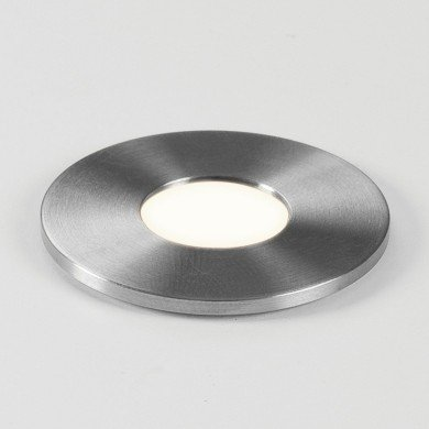 Astro Lighting - Terra Round 28 LED 1201003 (7199) - IP65 Brushed Stainless Steel Ground Light