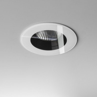 Astro Lighting - Vetro Round 1254013 (5746) - IP65 White Downlight/Recessed Spot Light