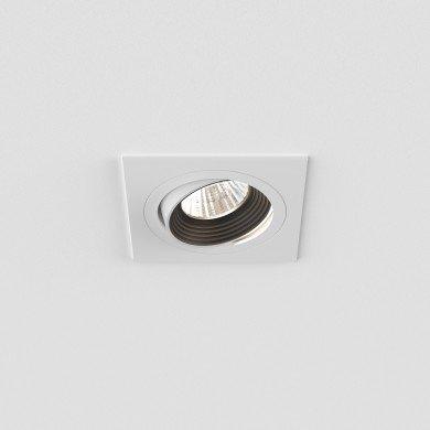 Astro Lighting - Aprilia Square 2700K 1256026 (5761) - Matt White Downlight/Recessed Spot Light