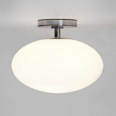 Astro Lighting - Zeppo Ceiling 1176001 (830) - IP44 Polished Chrome Ceiling Light