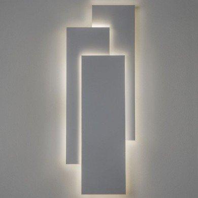 Astro Lighting - Edge 560 LED 2700K Dimmable 1352004 (7537) - Matt White Wall Light