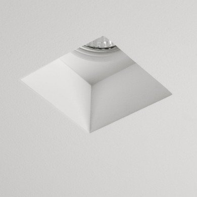 Astro Lighting - Blanco Square Fixed 1253002 (5655) - Plaster Downlight/Recessed Spot Light