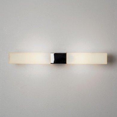 Astro Lighting - Padova Square 1143004 (7028) - IP44 Polished Chrome Wall Light