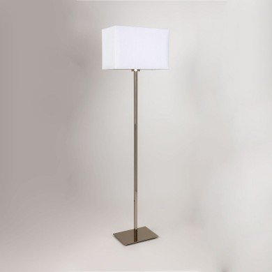 Astro Lighting - Park Lane Floor 1080015 & 5001002 - Polished Chrome Floor Light with White Shade Included
