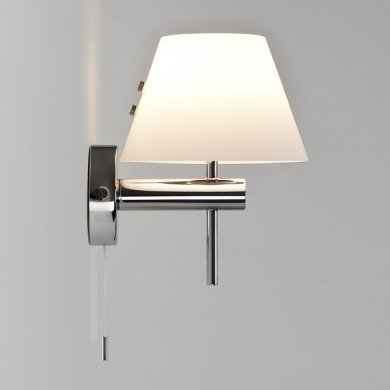 Astro Lighting - Roma switched 1050002 (434) - IP44 Polished Chrome Wall Light