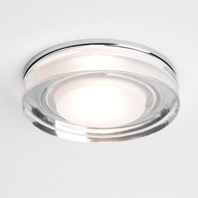 Astro Lighting - Vancouver Round 1229003 - IP65 Polished Chrome Downlight/Recessed Spot Light