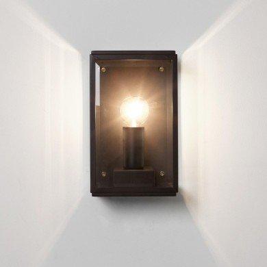 Astro Lighting - Homefield 130 1095013 (7590) - IP44 Textured Black Wall Light