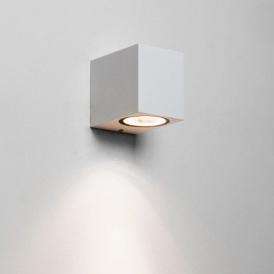 Astro Lighting - Chios 80 1310005 (7564) - IP44 Textured White Wall Light