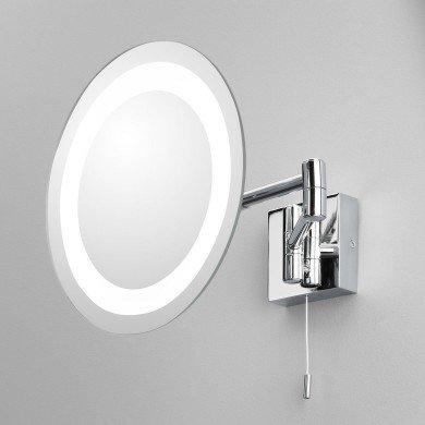 Astro Lighting - Genova 1055001 (356) - IP44 Polished Chrome Magnifying Mirror