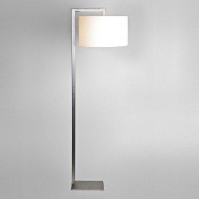 Astro Lighting - Ravello Floor 1222002 (4538) & 5016004 (4090) - Matt Nickel Floor Light with White Shade Included