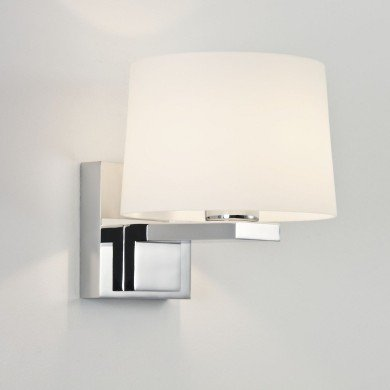 Astro Lighting - Broni Round 1170001 (776) - IP44 Polished Chrome Wall Light