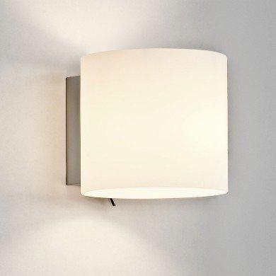 Astro Lighting - Luga 1074001 (411) - White Glass Wall Light