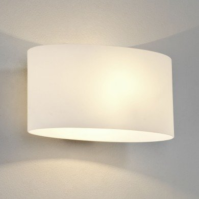 Astro Lighting - Tokyo 1089001 (472) - White Glass Wall Light