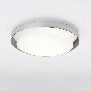 Astro Lighting - Dakota 300 1129001 (564) - IP44 Polished Chrome Ceiling Light