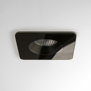 Astro Lighting - Vetro Square Fire-Rated 1254008 (5732) - IP65 Fire Rated Black Downlight/Recessed Spot Light