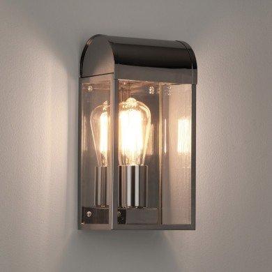 Astro Lighting - Newbury 1339002 (7863) - IP44 Polished Nickel Wall Light