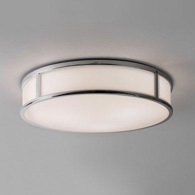 Astro Lighting - Mashiko 400 Round 1121026 (7421) - IP44 Polished Chrome Ceiling Light