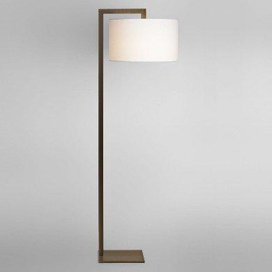 Astro Lighting - Ravello Floor 1222003 (4539) & 5016004 (4090) - Bronze Floor Light with White Shade Included