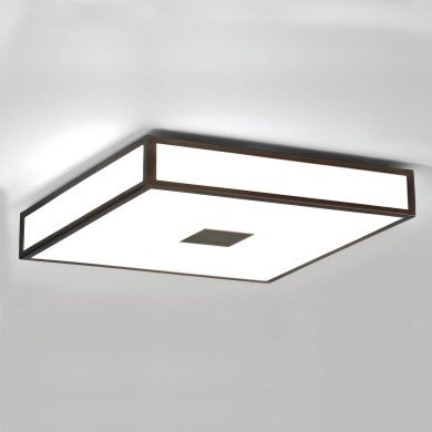 Astro Lighting - Mashiko 400 Square 1121013 (969) - IP44 Bronze Ceiling Light