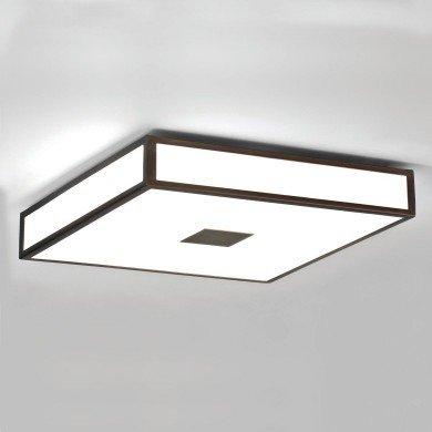 Astro Lighting - Mashiko 400 Square 1121013 (969) - IP44 Bronze Ceiling Light