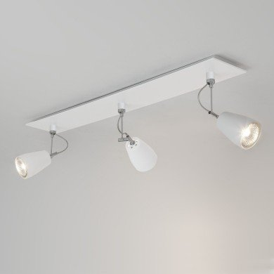 Astro Lighting - Polar Triple Bar 1258003 (6006) - Matt White Spotlight