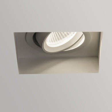 Astro Lighting - Trimless Square Adjustable LED 1248009 (5699) - Textured White Downlight/Recessed Spot Light