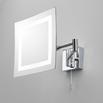 Astro Lighting - Torino 1054001 (355) - IP44 Polished Chrome Magnifying Mirror