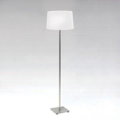 Astro Lighting - Azumi Floor 1142023 (4515) & 5009003 (4026) - Matt Nickel Floor Stand with White Shade