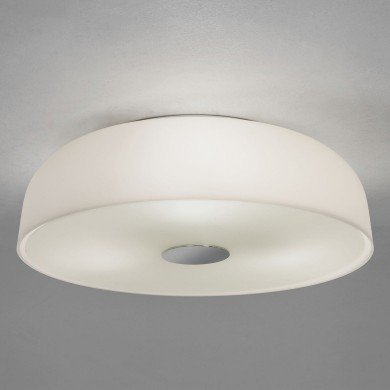 Astro Lighting - Syros 1328001 (7189) - IP44 White Glass Ceiling Light