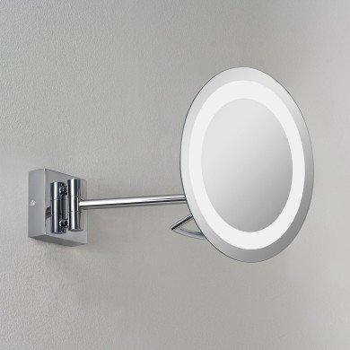 Astro Lighting - Gena plus 1097002 (526) - IP44 Polished Chrome Magnifying Mirror