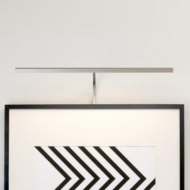 Astro Lighting - Mondrian 600 Frame Mounted LED 1374006 (7889) - Matt Nickel Picture Light