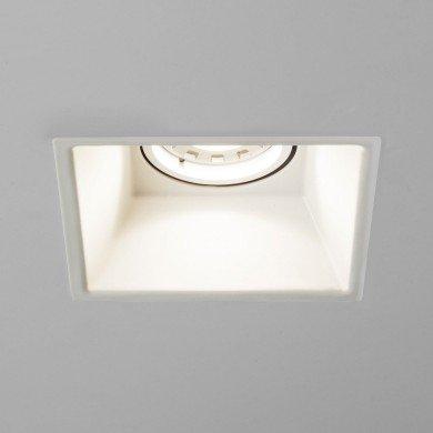 Astro Lighting - Minima Square Fixed 1249007 (5738) - Matt White Downlight/Recessed Spot Light