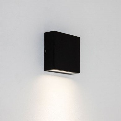 Astro Lighting - Elis Single LED 1331001 (7201) - IP54 Textured Black Wall Light
