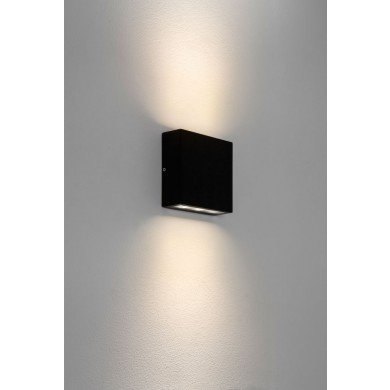 Astro Lighting - Elis Twin LED 1331002 (7202) - IP54 Textured Black Wall Light