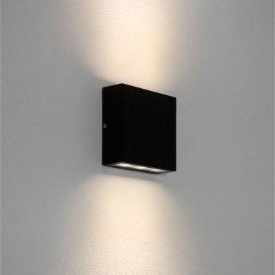 Astro Lighting - Elis Twin LED 1331002 (7202) - IP54 Textured Black Wall Light