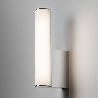 Astro Lighting - Domino LED 1355001 (7392) - IP44 Polished Chrome Wall Light