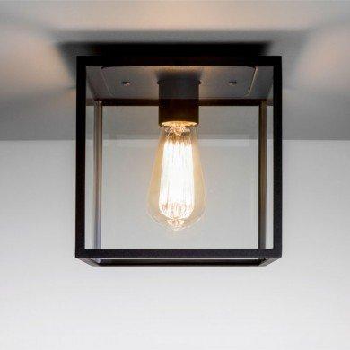 Astro Lighting - Box 1354001 (7389) - Textured Black Ceiling Light