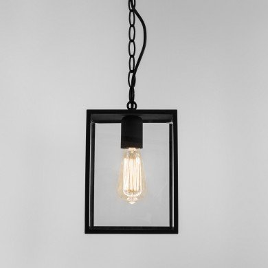 Astro Lighting - Homefield Pendant 240 1095010 (7207) - Textured Black Pendant