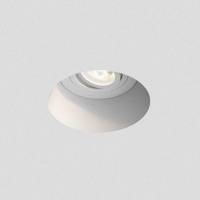 Astro Lighting - Blanco Round Adjustable 1253005 (7343) - Plaster Downlight/Recessed Spot Light