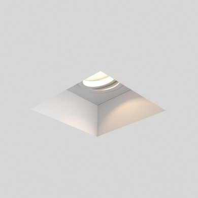 Astro Lighting - Blanco Square Adjustable 1253007 (7345) - Plaster Downlight/Recessed Spot Light