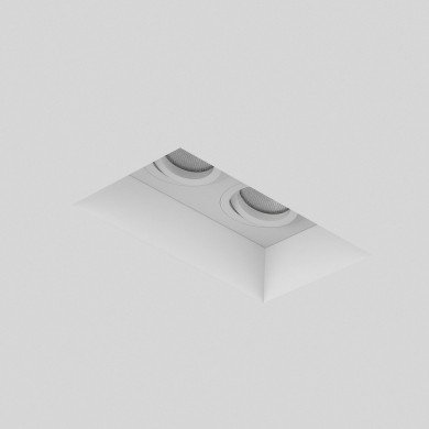 Astro Lighting - Blanco Twin Adjustable 1253006 (7344) - Plaster Downlight/Recessed Spot Light